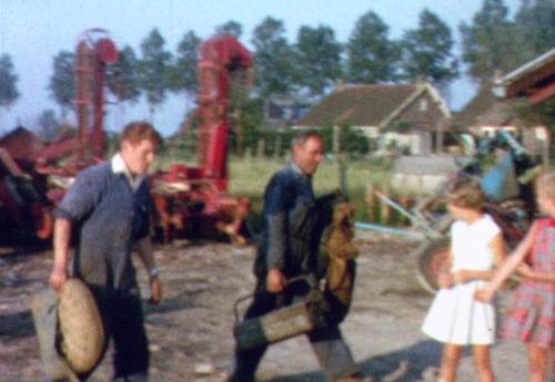 Rijnlanderweg W 0685 1960-63 Achterzijde vanaf Erf RVR