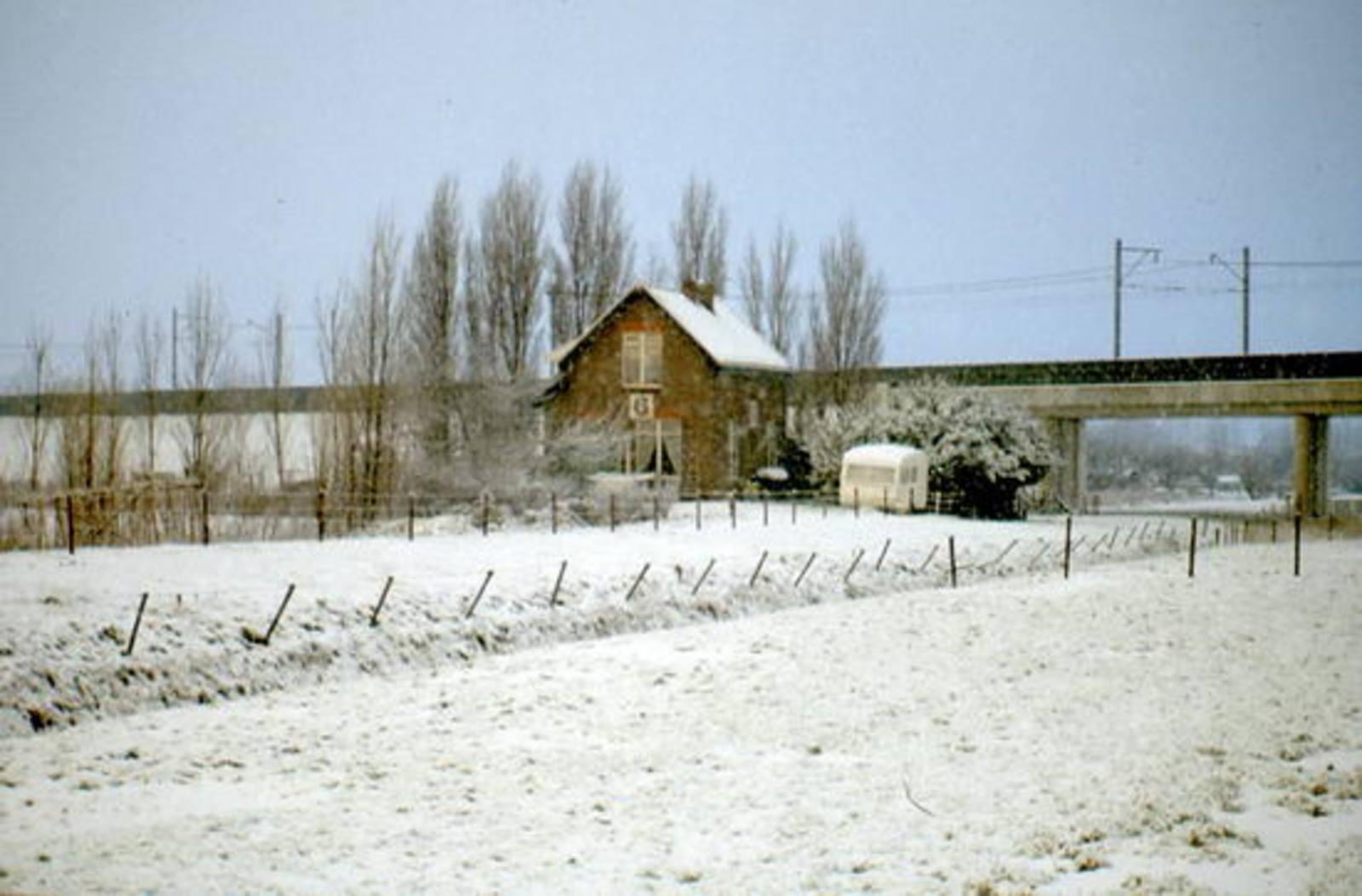 Rijnlanderweg W 0860± 1980 Spoorhuis 6 (50)