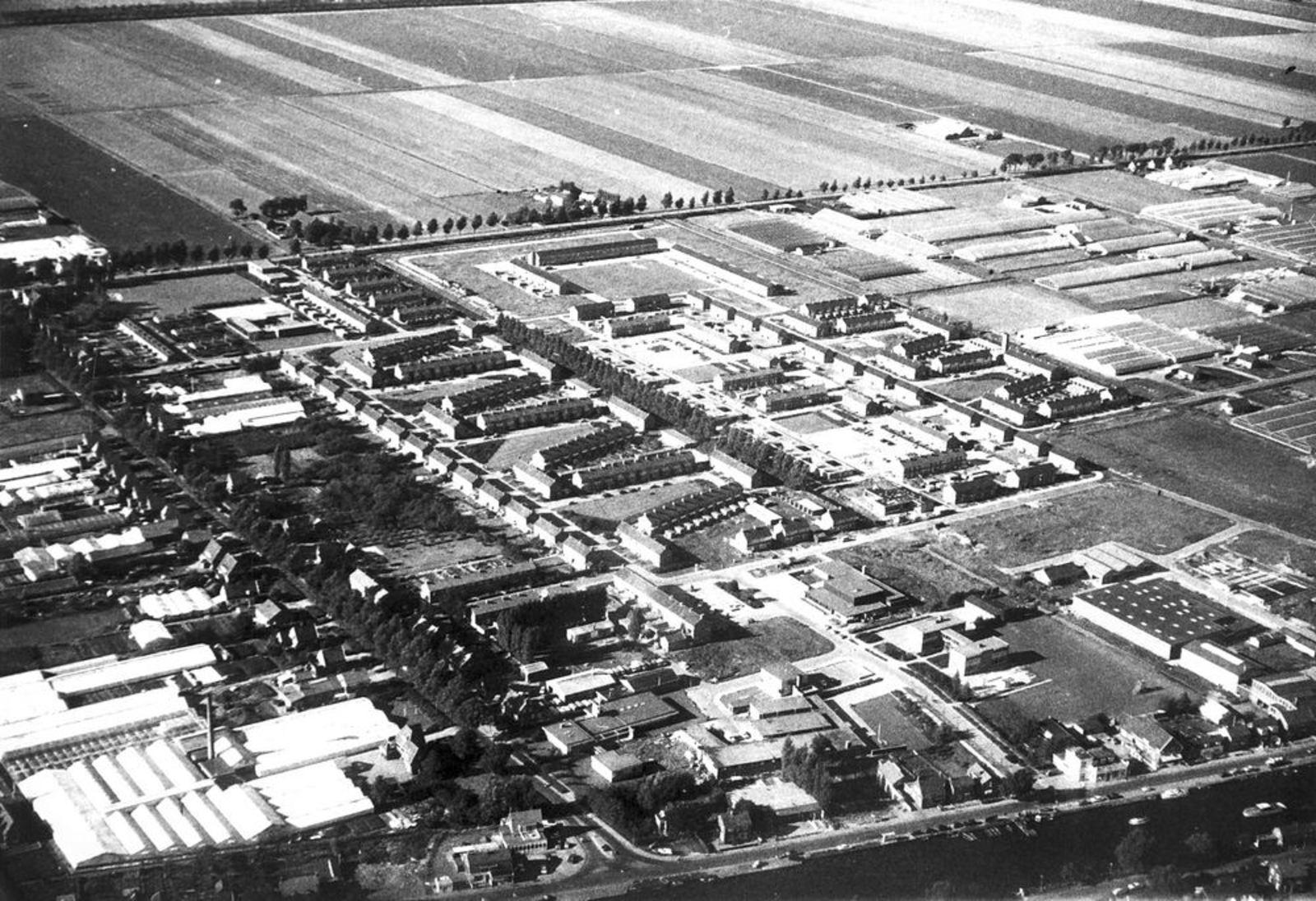 Rijsenhout 1970 Luchtfoto