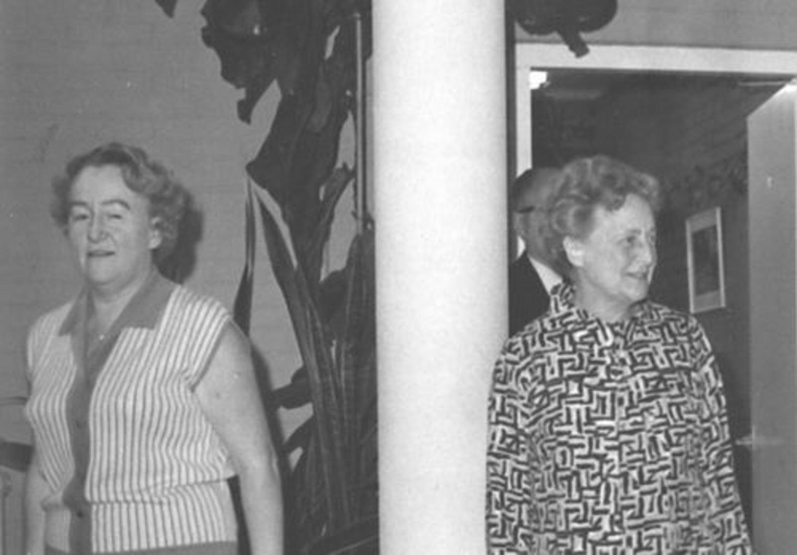 RK School Hoofddorp 1970 afscheid Mej Lohmann 01