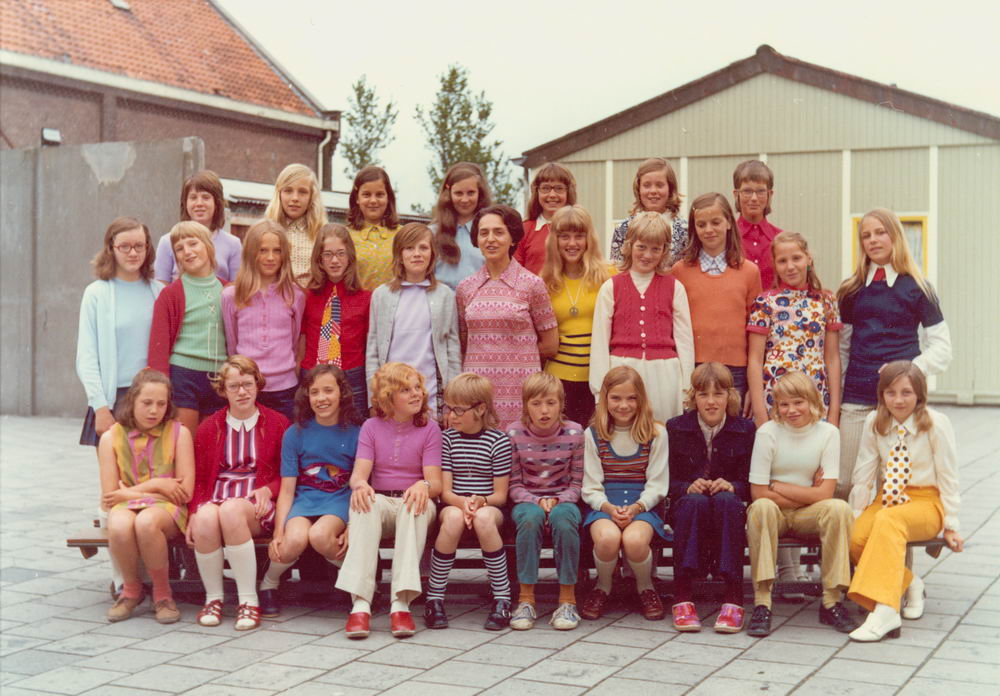 RK School Hoofddorp 1972 St Jozef Klas 6