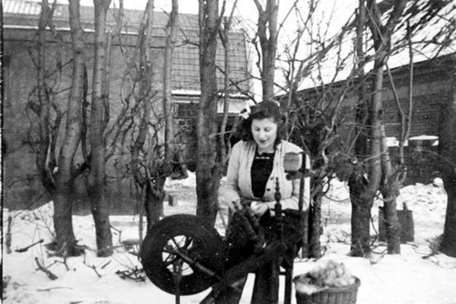 Robijn Aggie 19__ op Spinnewiel in de Sneeuw