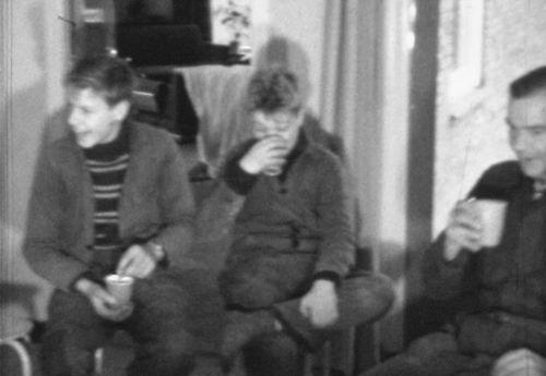 Roodenburg Wim 1960-63 Koffiepauze met Teun en Piet vd Luit