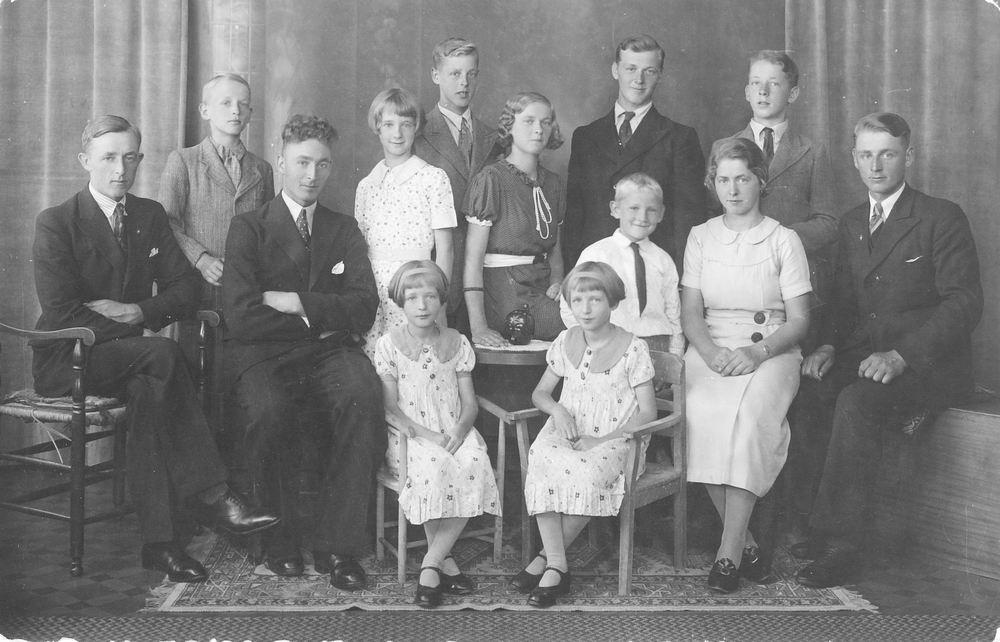 <b>ZOEKPLAATJE:</b>&nbsp;Rutten Onbekend 19__ Familiefoto