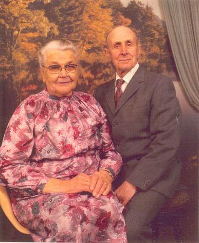 Schalk Francois 1981 50jr getrouwd met Gerritje Schering