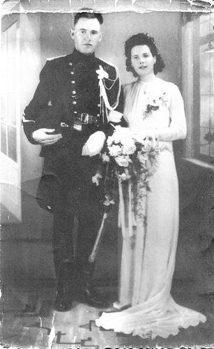 Schalk Jan 1943 trouwt Helena Hendrika de Kooker