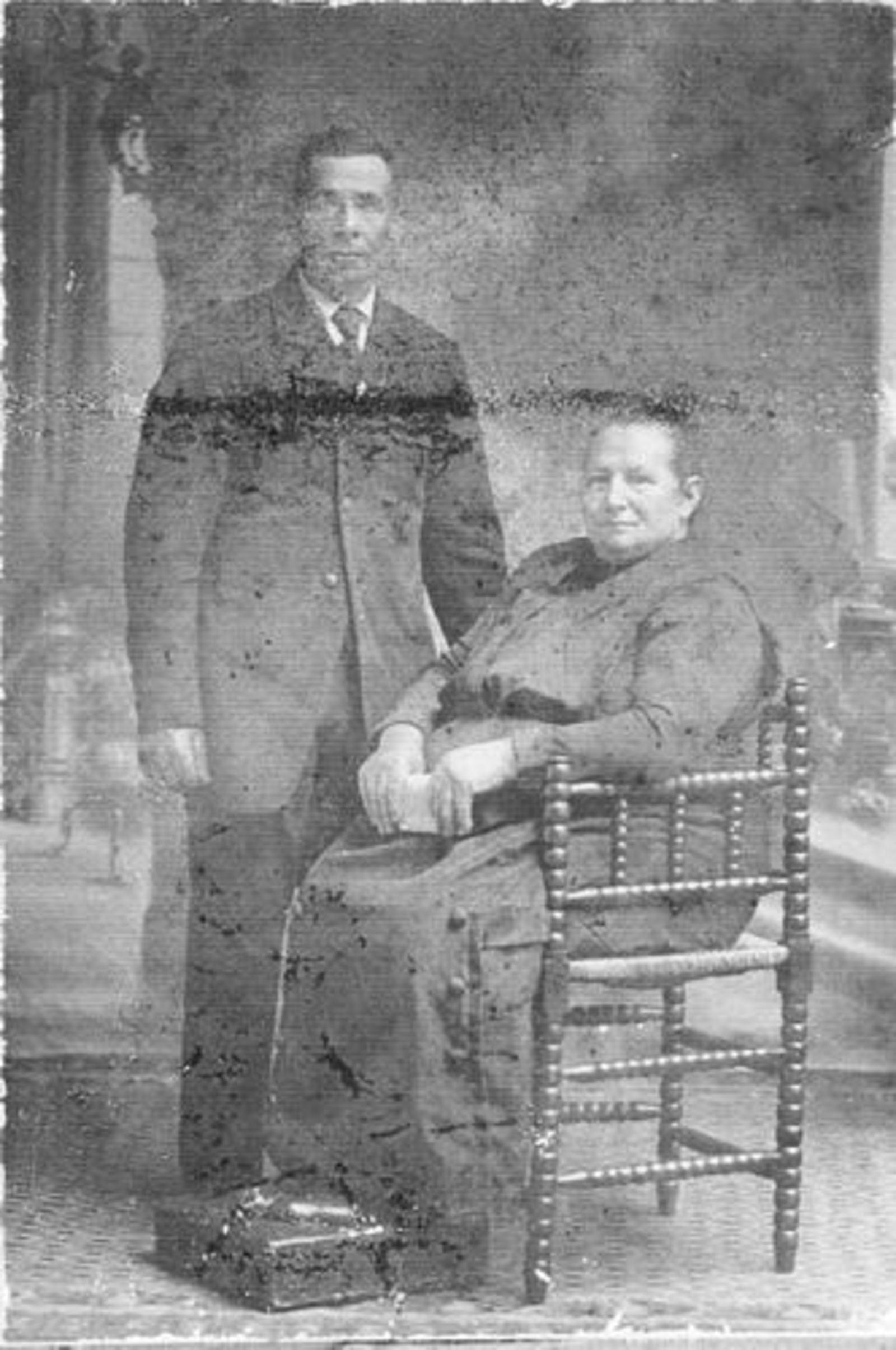 Schalk Pieter 1930± met vrouw Cornelia v Nieuwkoop
