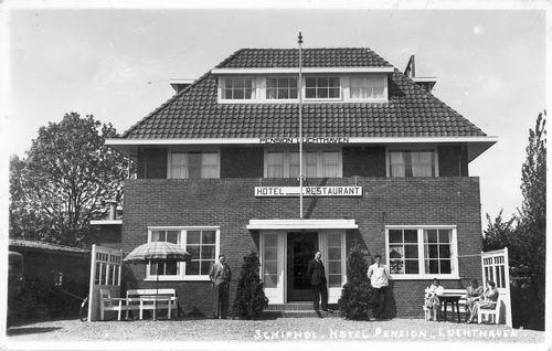 Schipholdijk 0093 1939 Pension Luchthaven