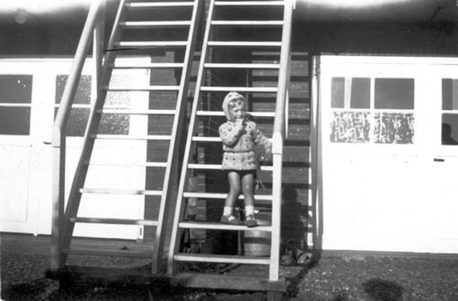 Schipholdijk 0205 1949± met fam Galis bij fam Jan Ekkerman 06