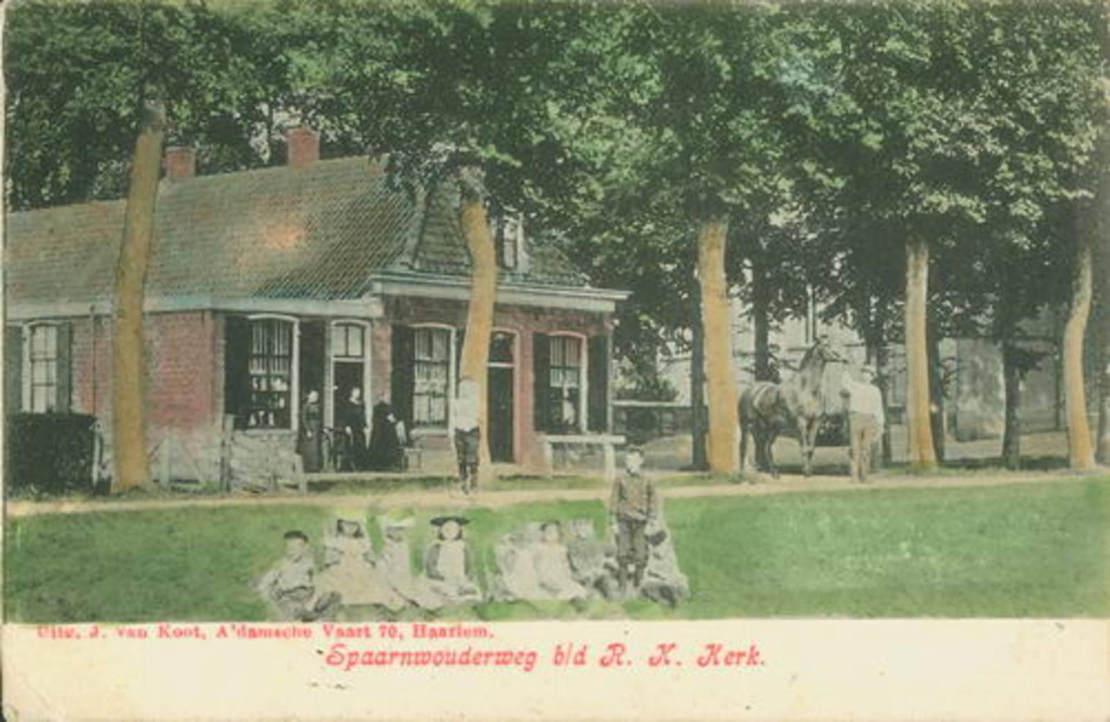 Schipholweg N 0645 1908 Cafe Schrama_kleur