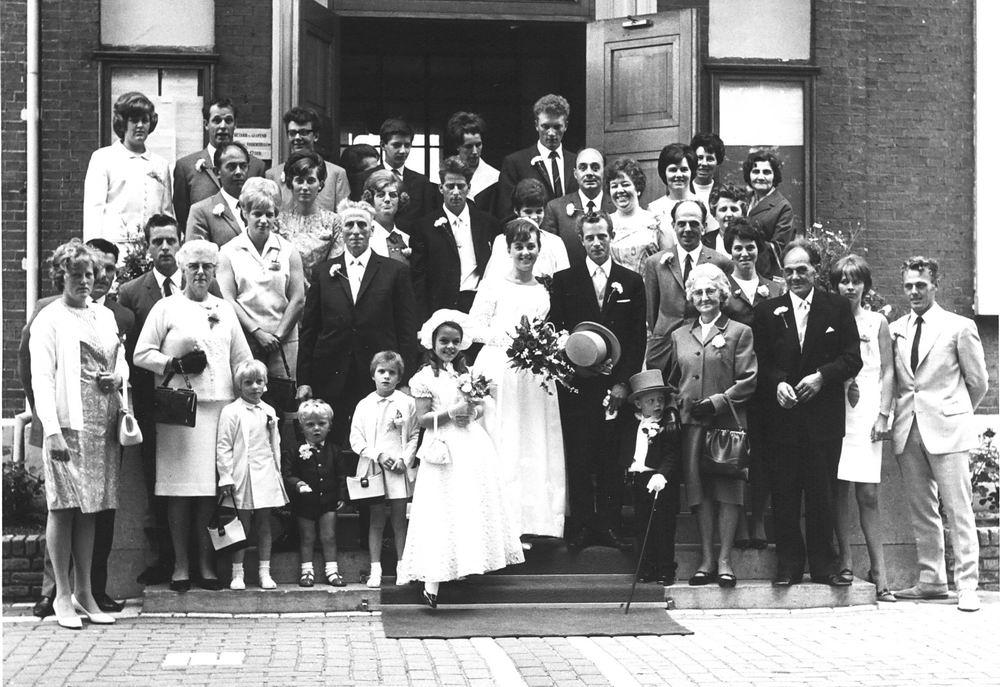 Schreuders Gretha 1968 trouwt Joop de Gier