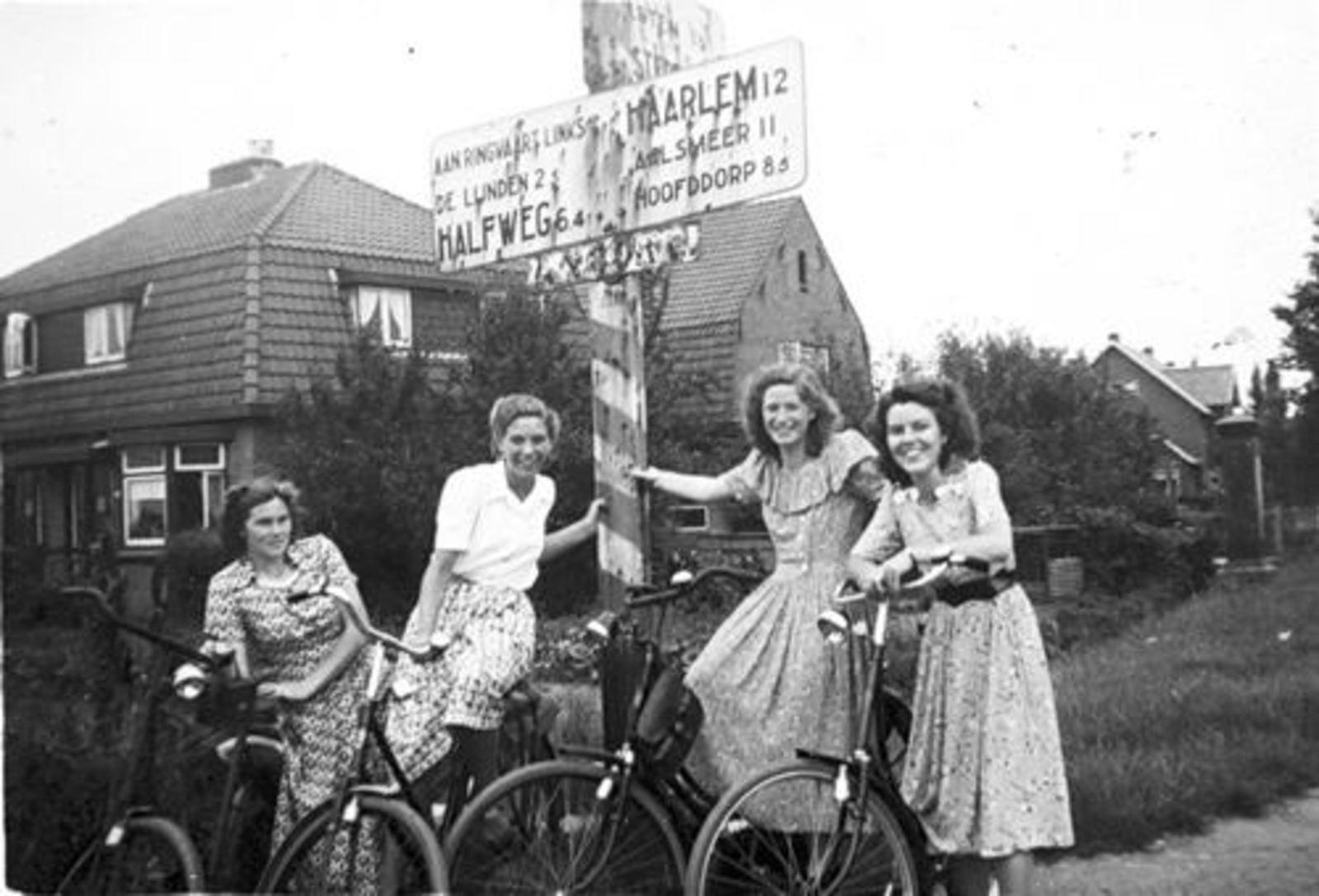 Sloterweg O 0136± 1949 kruising Burgemeester Amersfoordtlaan