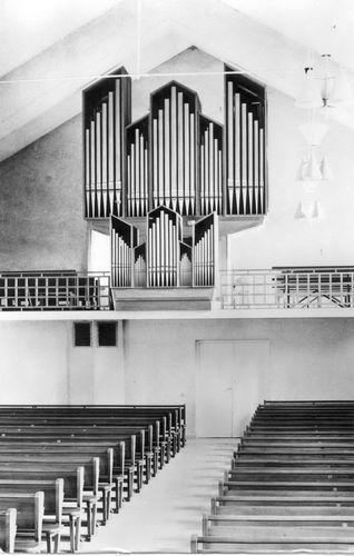 Sloterweg W 0083 1966 NH Immanuelkerk Orgel