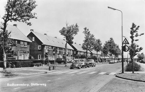 Sloterweg W 023_ 1969 Zicht naar Rijkswegviaduct
