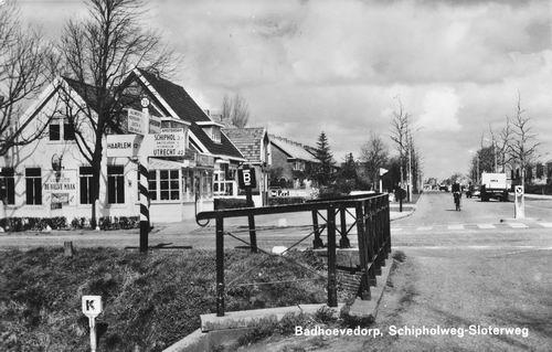 Sloterweg W 0259 1967 cafe vanouds de Halve Maan