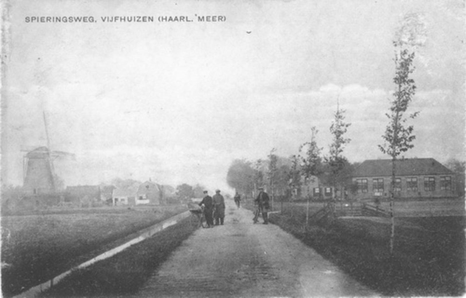 Spieringweg W 0582 1920 met Jonge Landman
