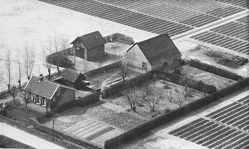 Spieringweg W 0865 1950 Gebr Veldhuizen v Zanten Luchtfoto