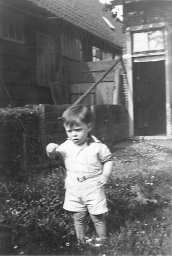 Stieva Steef 1903 1935+ met zoontje Kees 02