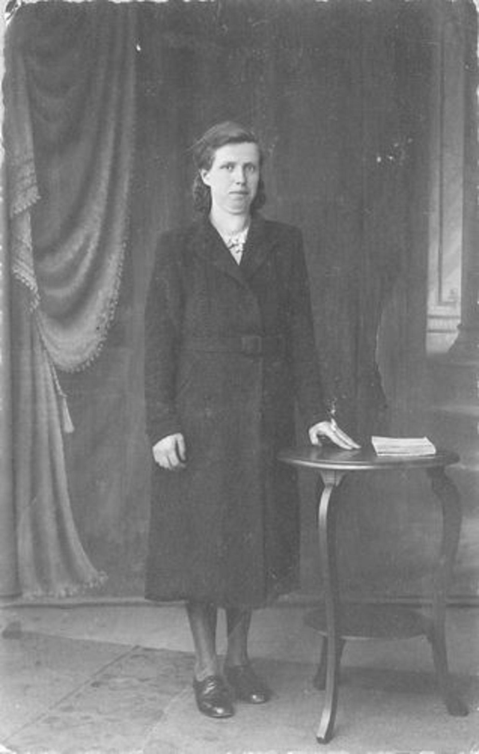Stroomer Aafje 1912 1940 bij Fotograaf
