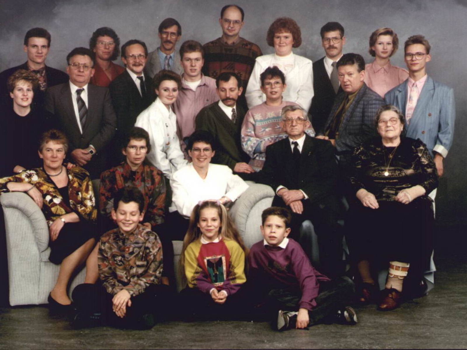 Stroomer Cor 1916 1990 Familiefoto 01