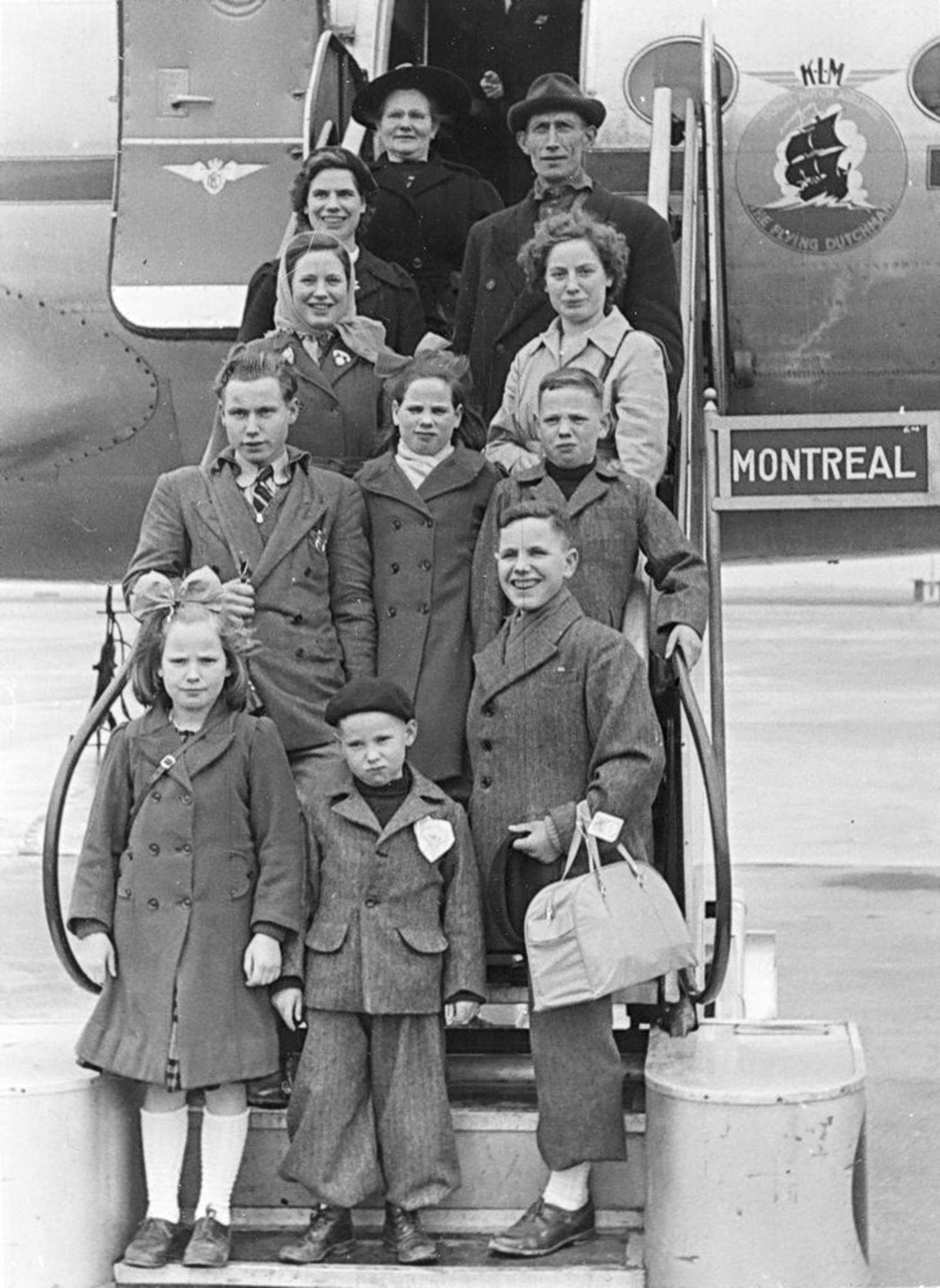 Stroomer Jacob 1902 1952 Gezin emigreert naar Canada