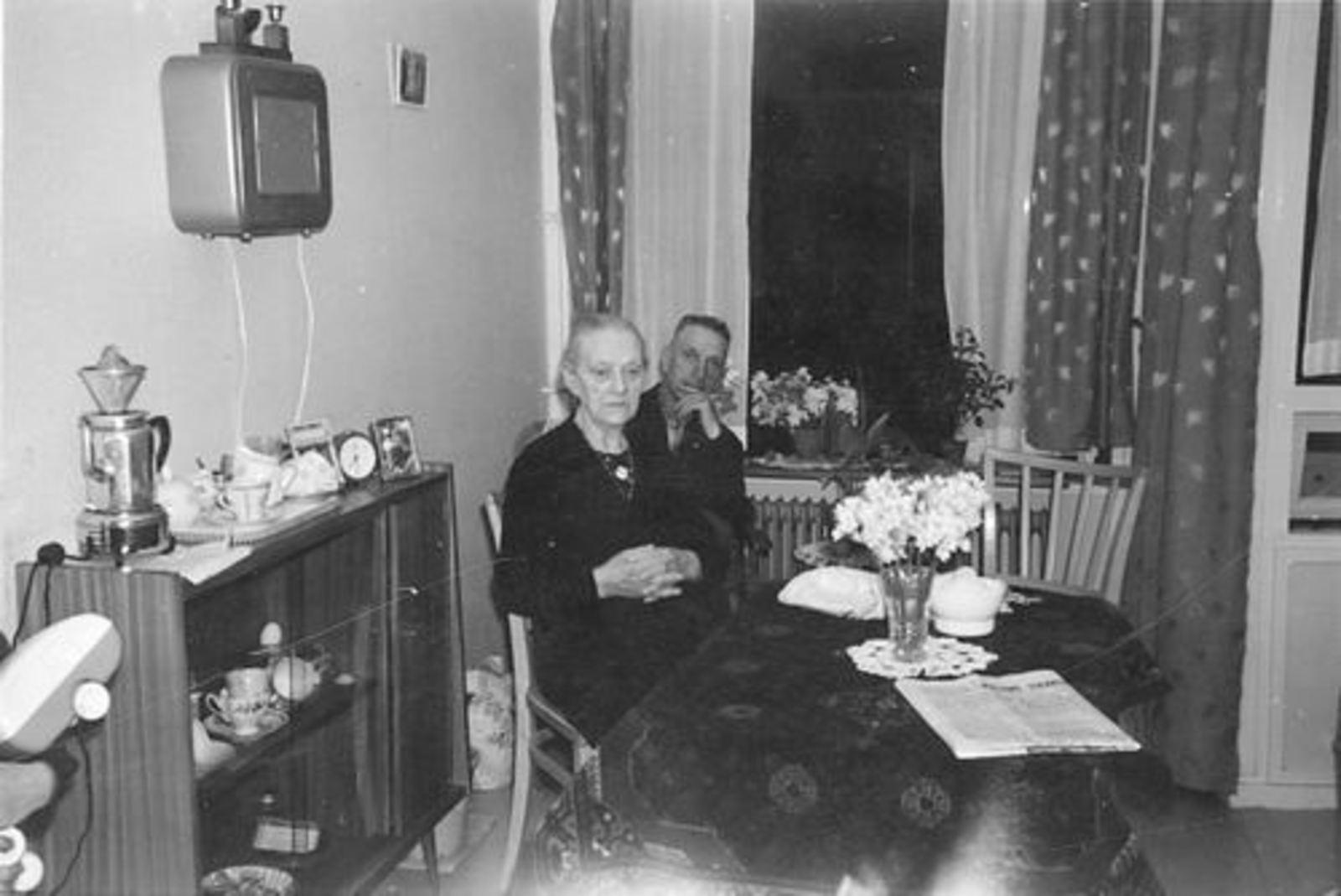 Stroomer-Koppedrajer Marijtje 1875 1962- met zoon Gerrit Stroomer