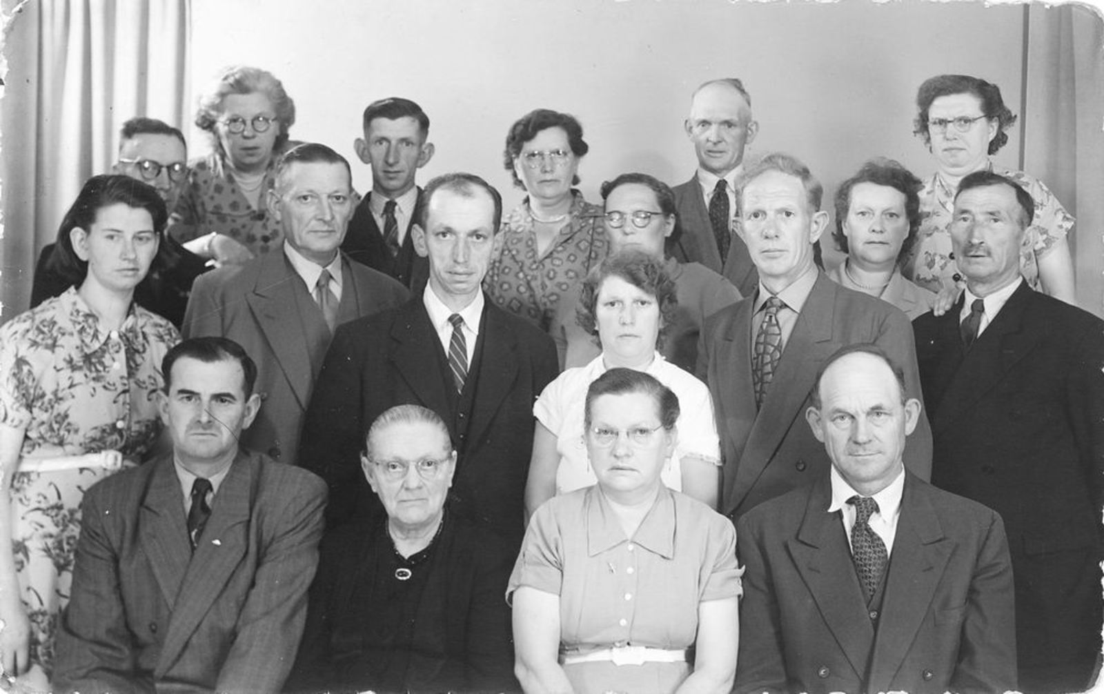 Stroomer Mien 1907 1953 25jr Getrouwd 01