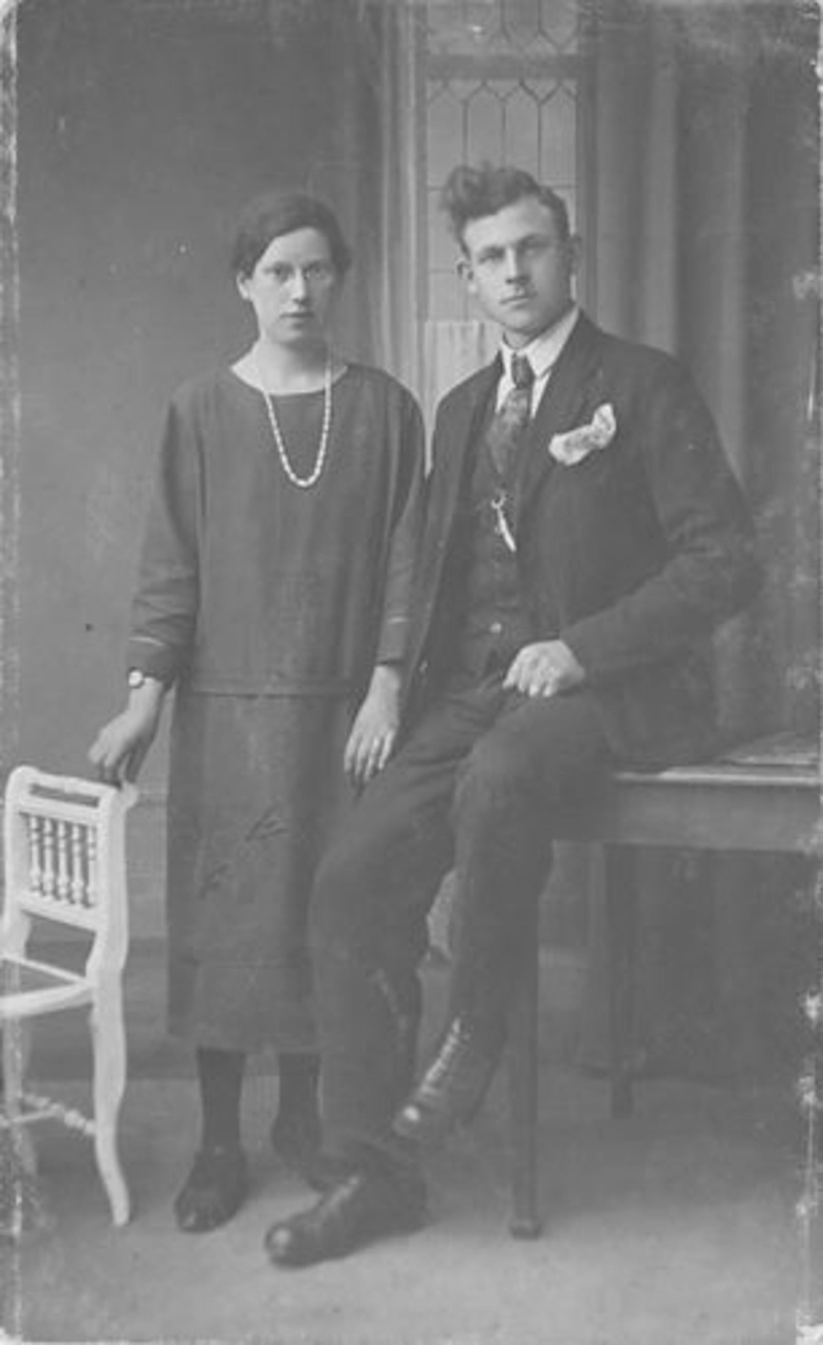 Stroomer Trijn 1905 1928 bij Fotograaf met Toon Huiskens