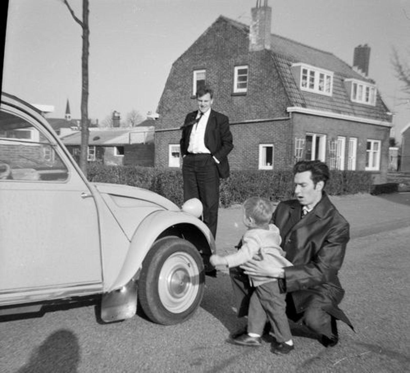 Ter Veenlaan N 0005-07 1967 met Cor Koeckhoven en Harrie Leemkuil