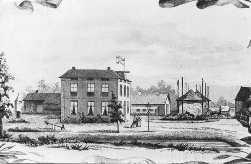 Toevluchtstraat De Badhoeve 1854