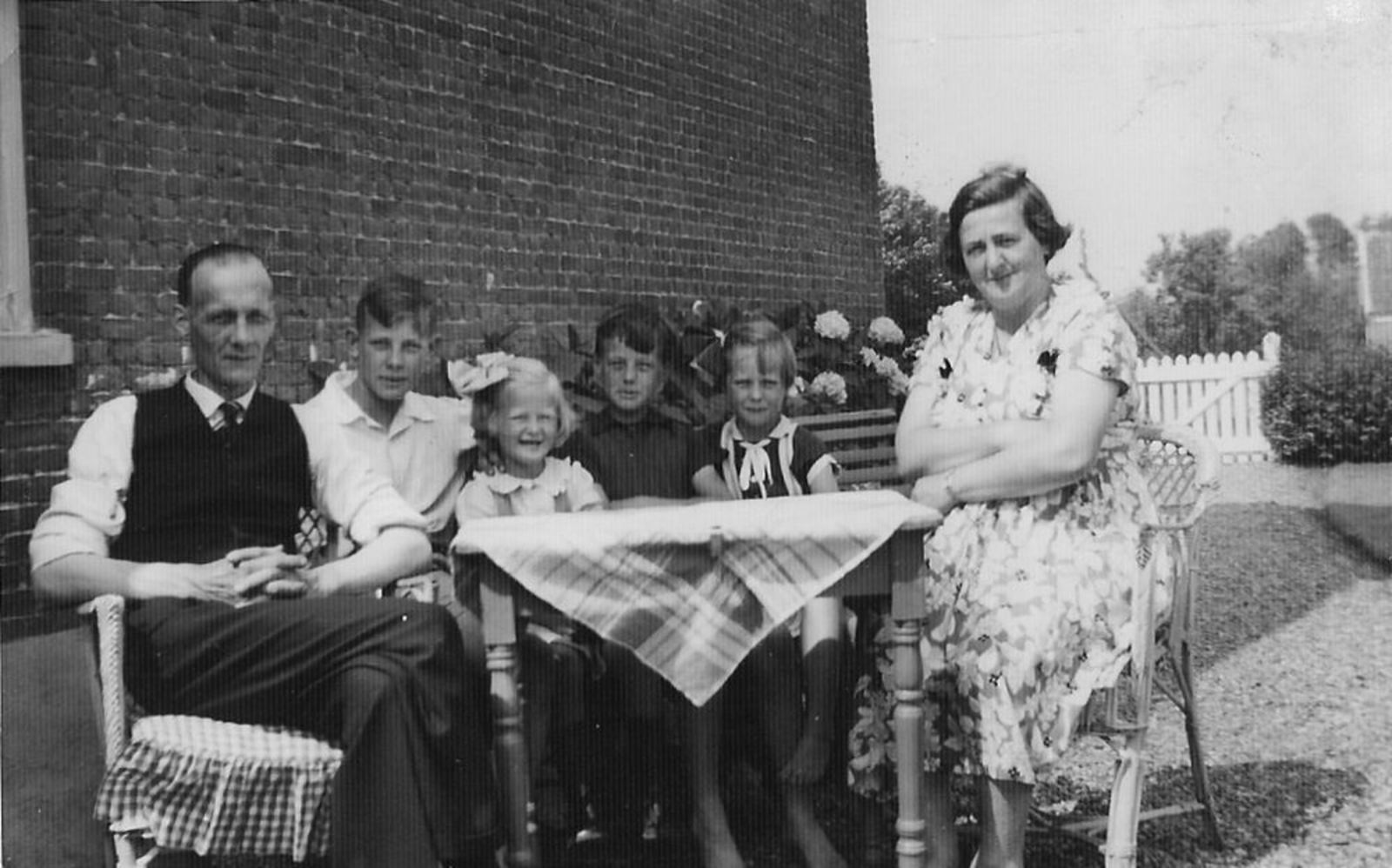 Vijfhuizen Onbekend Gezin 01 1955