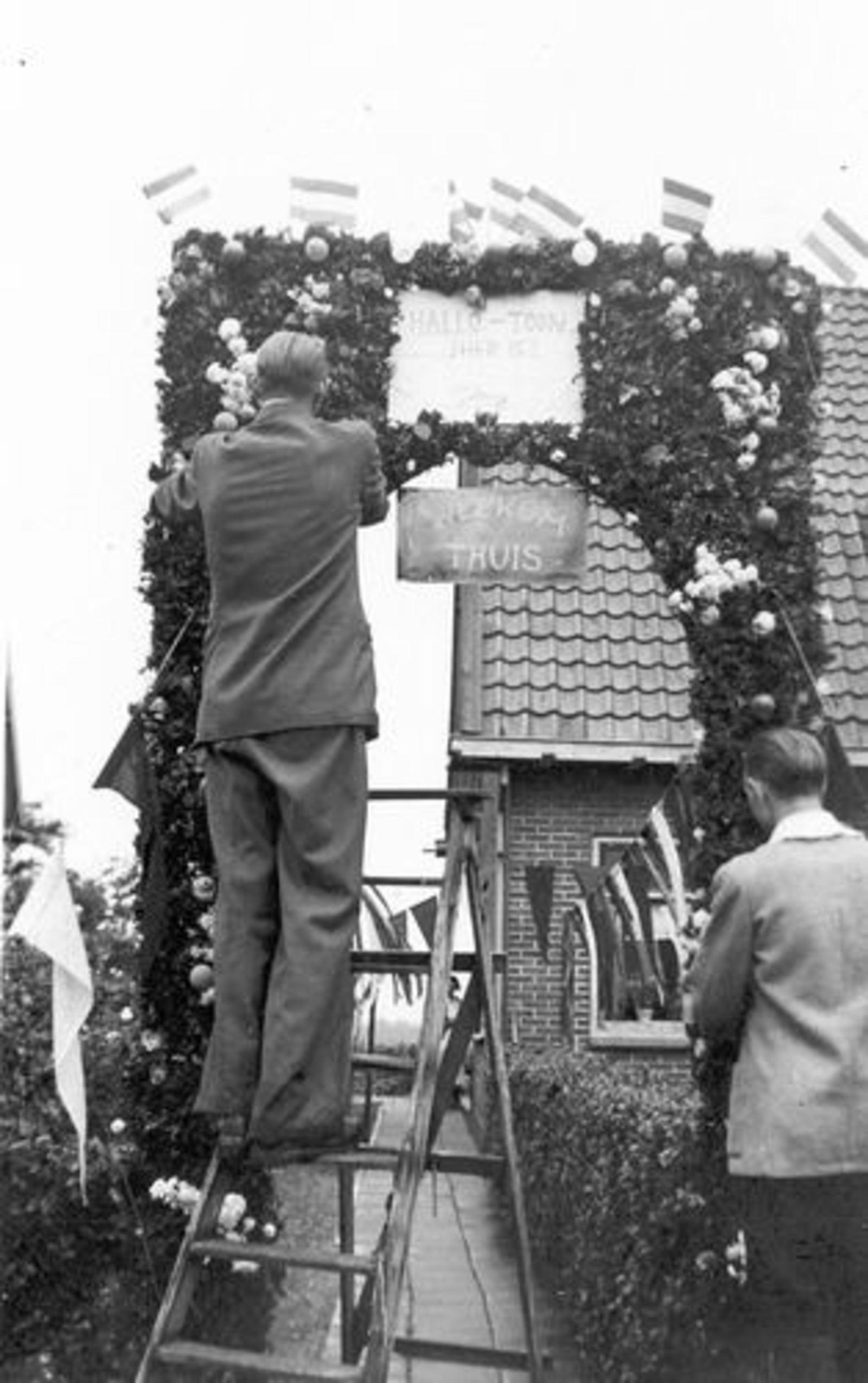 Vijfhuizerweg N 0197 1950± Anton vd Steeg Soldaat 01