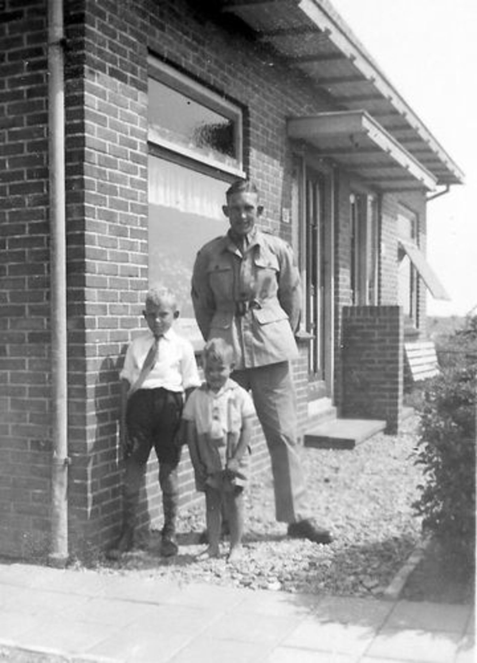 Vijfhuizerweg N 0197 1950± Anton vd Steeg Soldaat 12