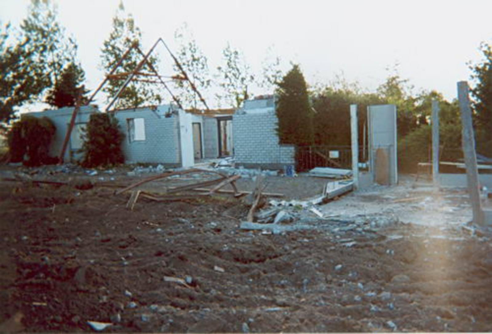 Vijfhuizerweg N 0533± 2000 Sloop Huize Rijke 04