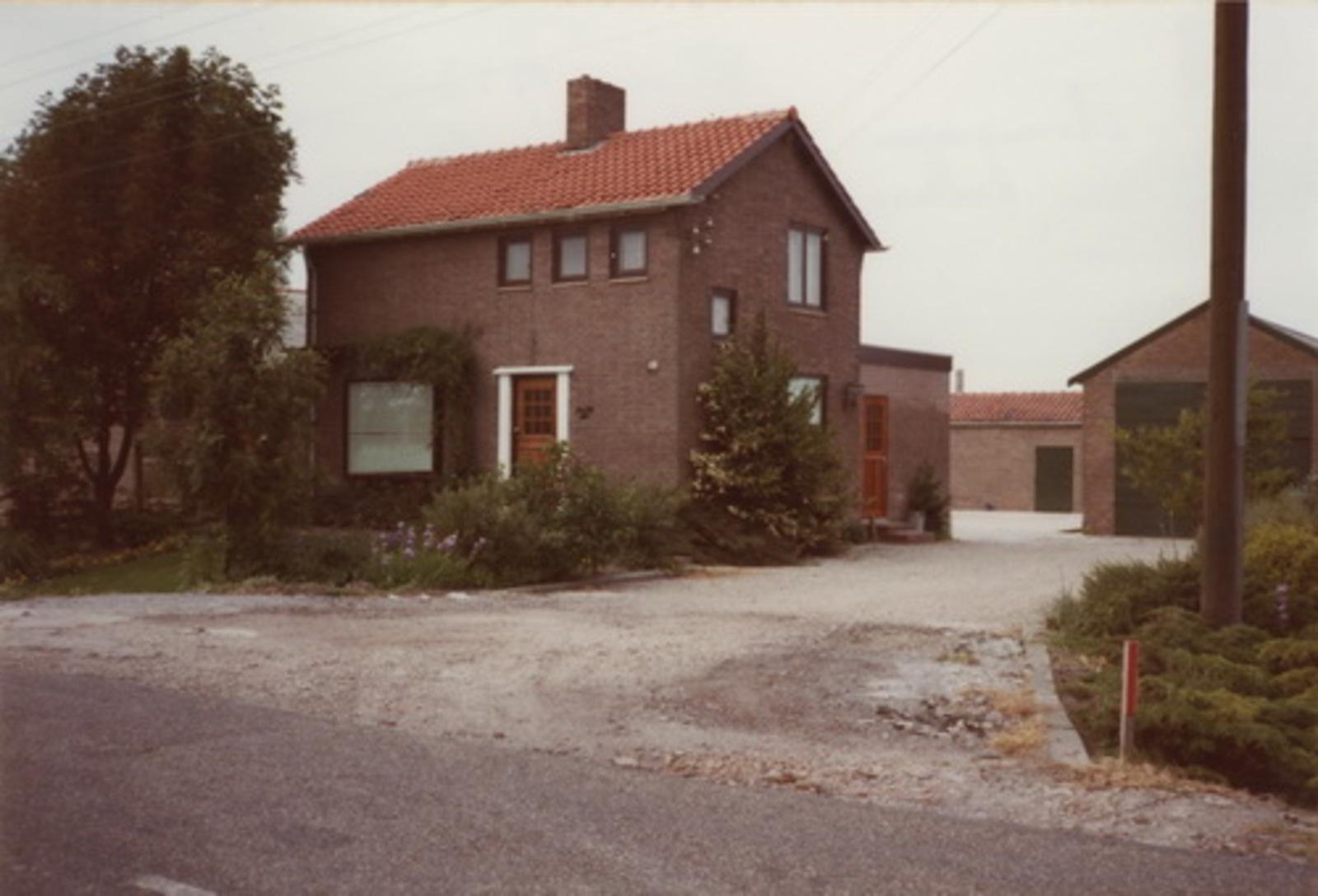 Vijfhuizerweg N 0583 1983 Champignonnen kwekerij Gebr Rijke