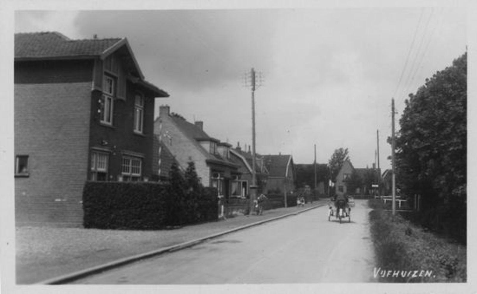 Vijfhuizerweg Z 0514 1937 Gereformeerde Pastorie