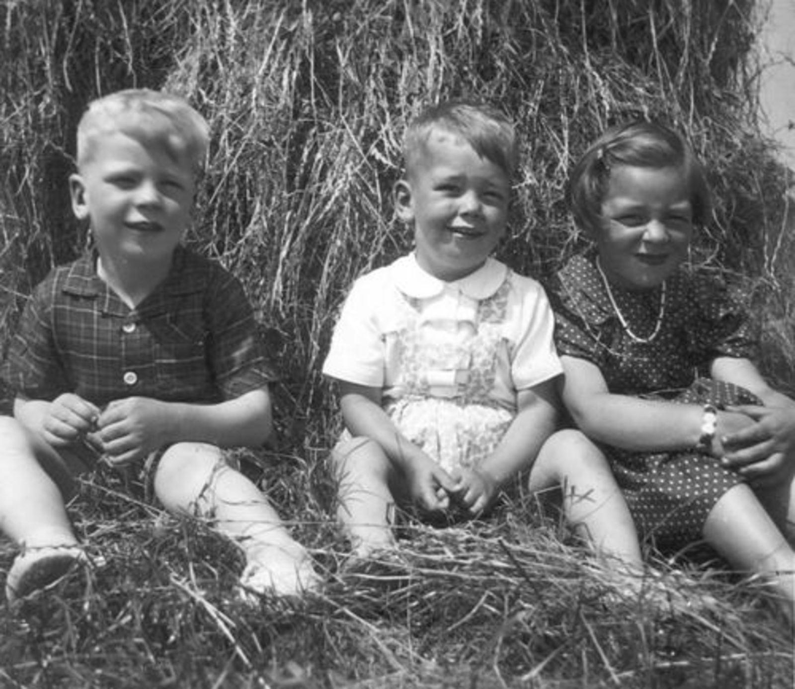 Vlieger Dirk de 1906 1952± Kinderen bij Korenschoof