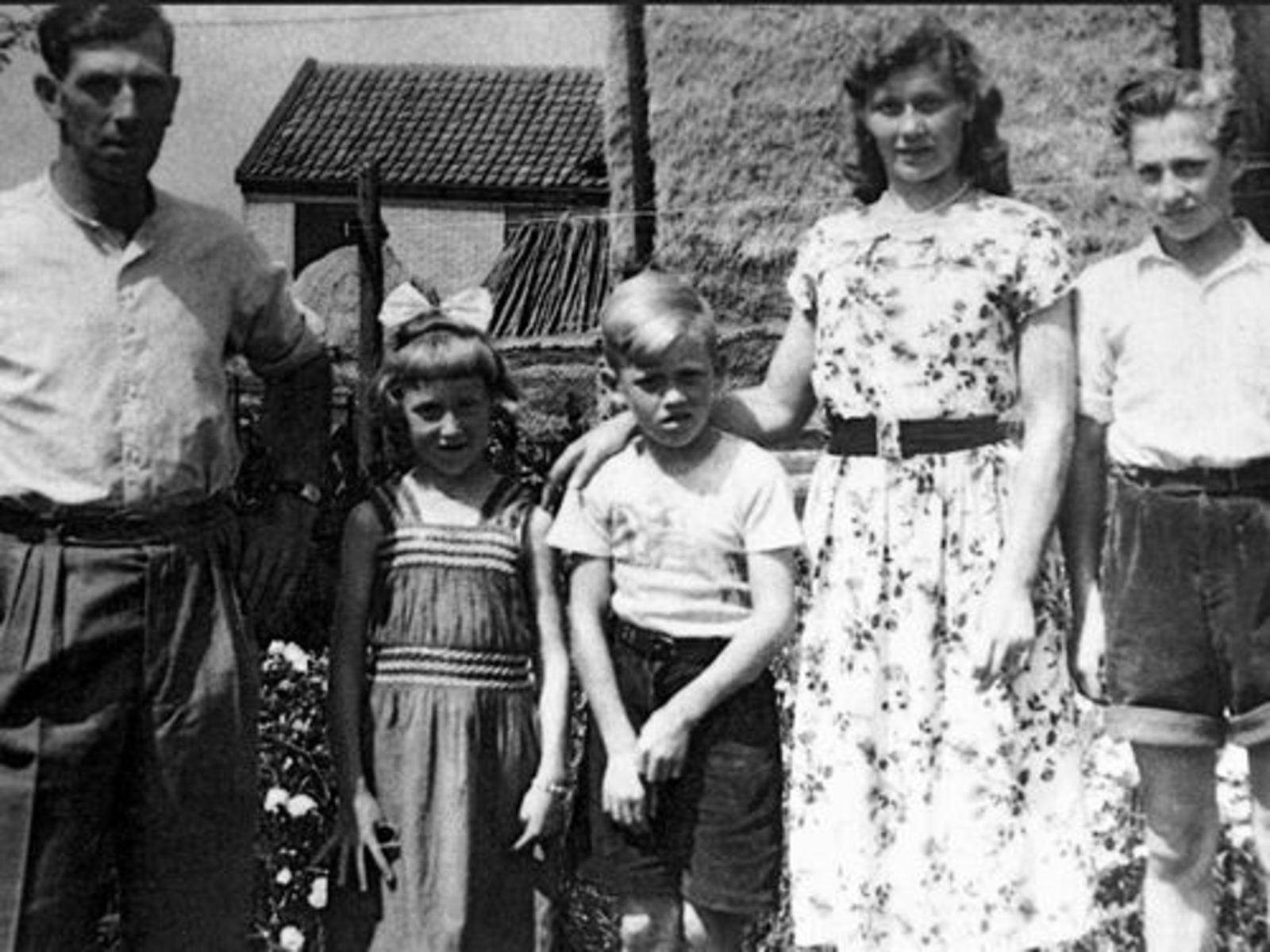 Volger Cor 1913 1950± Gezinsfoto