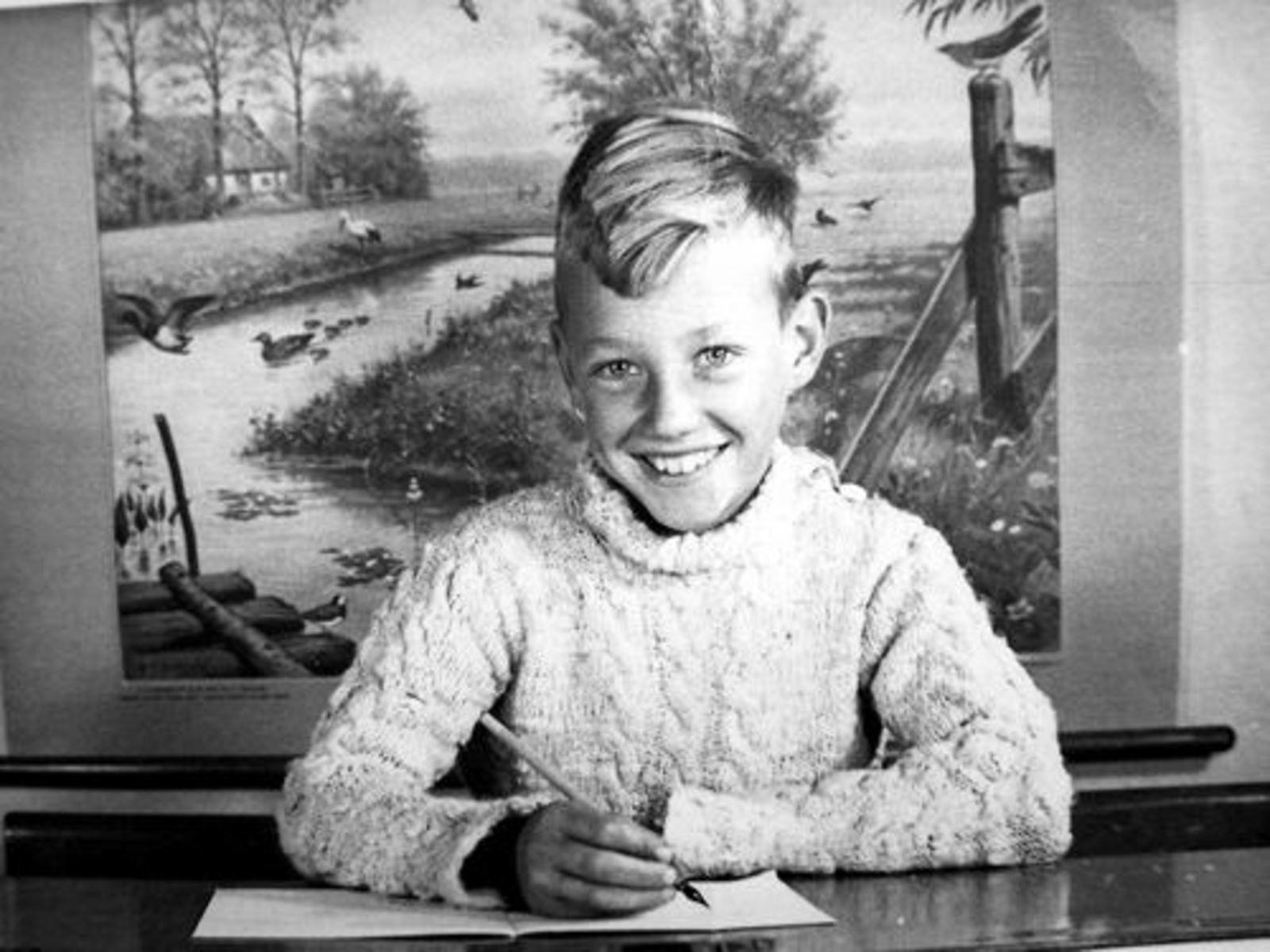 Volger Jan 1939 1946± Schoolfoto 2e Klas