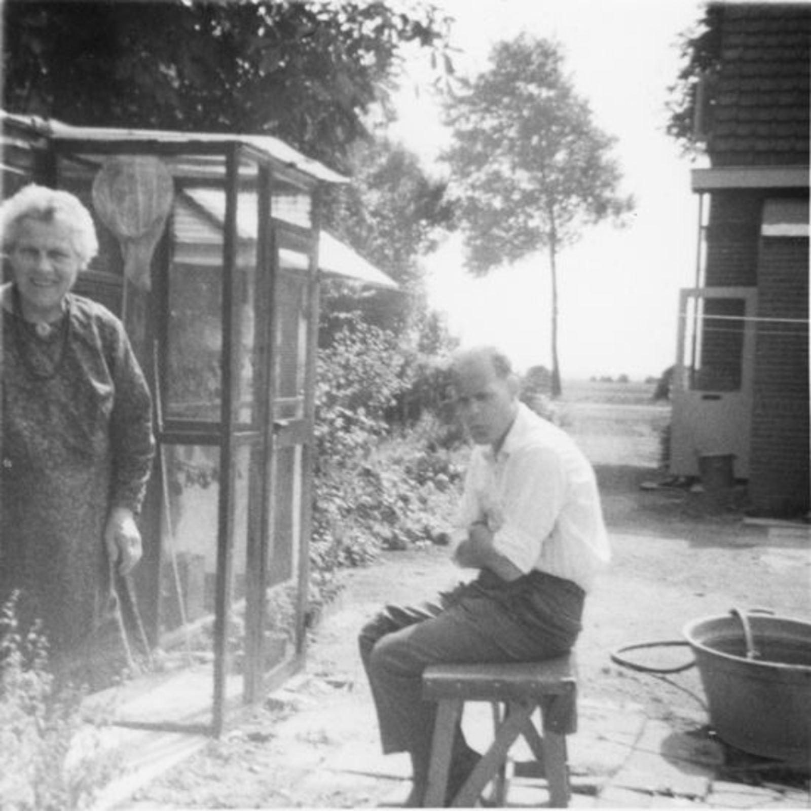 Vuren-Malipaard Pietertje v 1900 19__ Onbekend 21 met (schoon)zoon Co