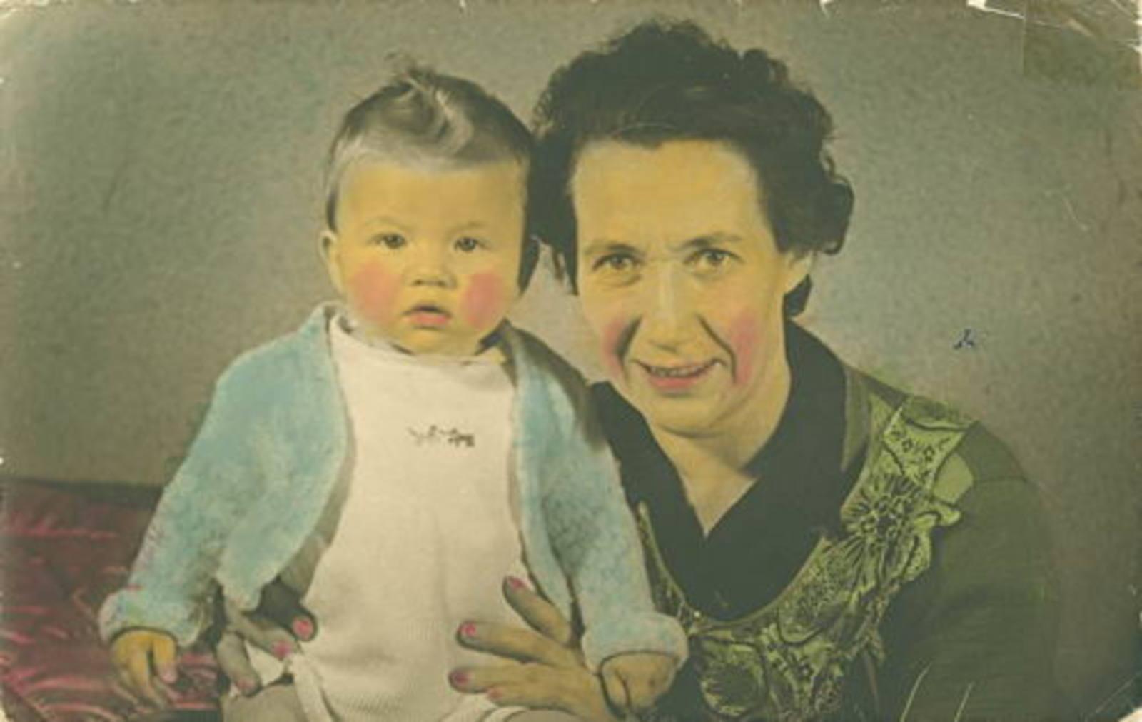 Wassenaar Hendrikus G 1909 1937 Vrouw en Baby Cocky 01