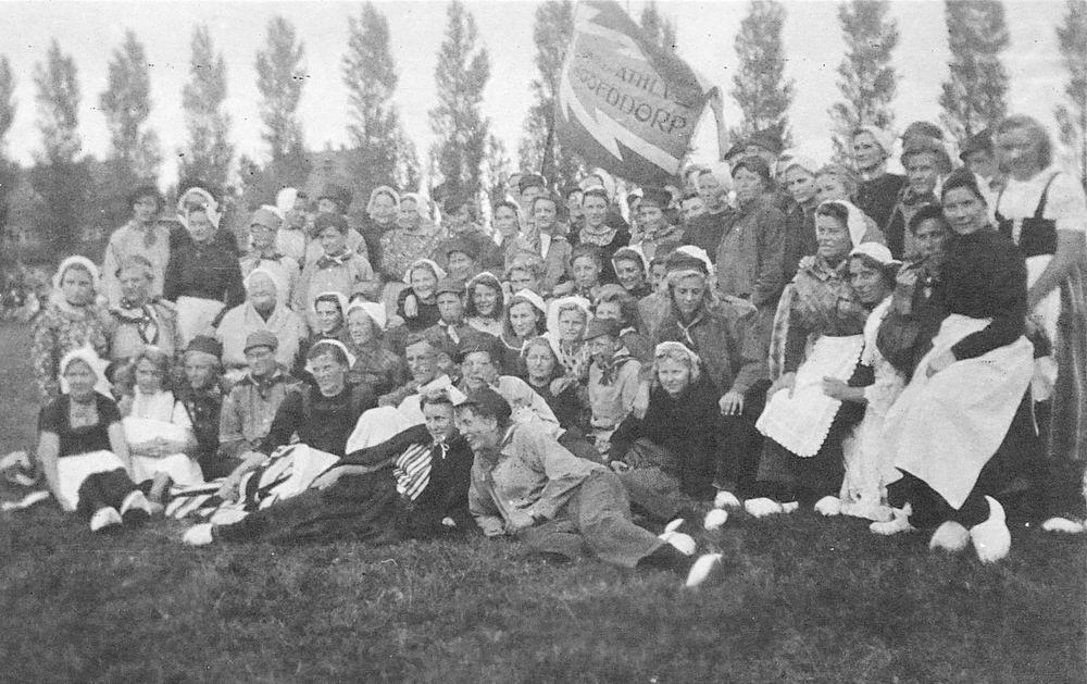 WOII 1945 Bevrijdingsfeest Athletiekvereniging