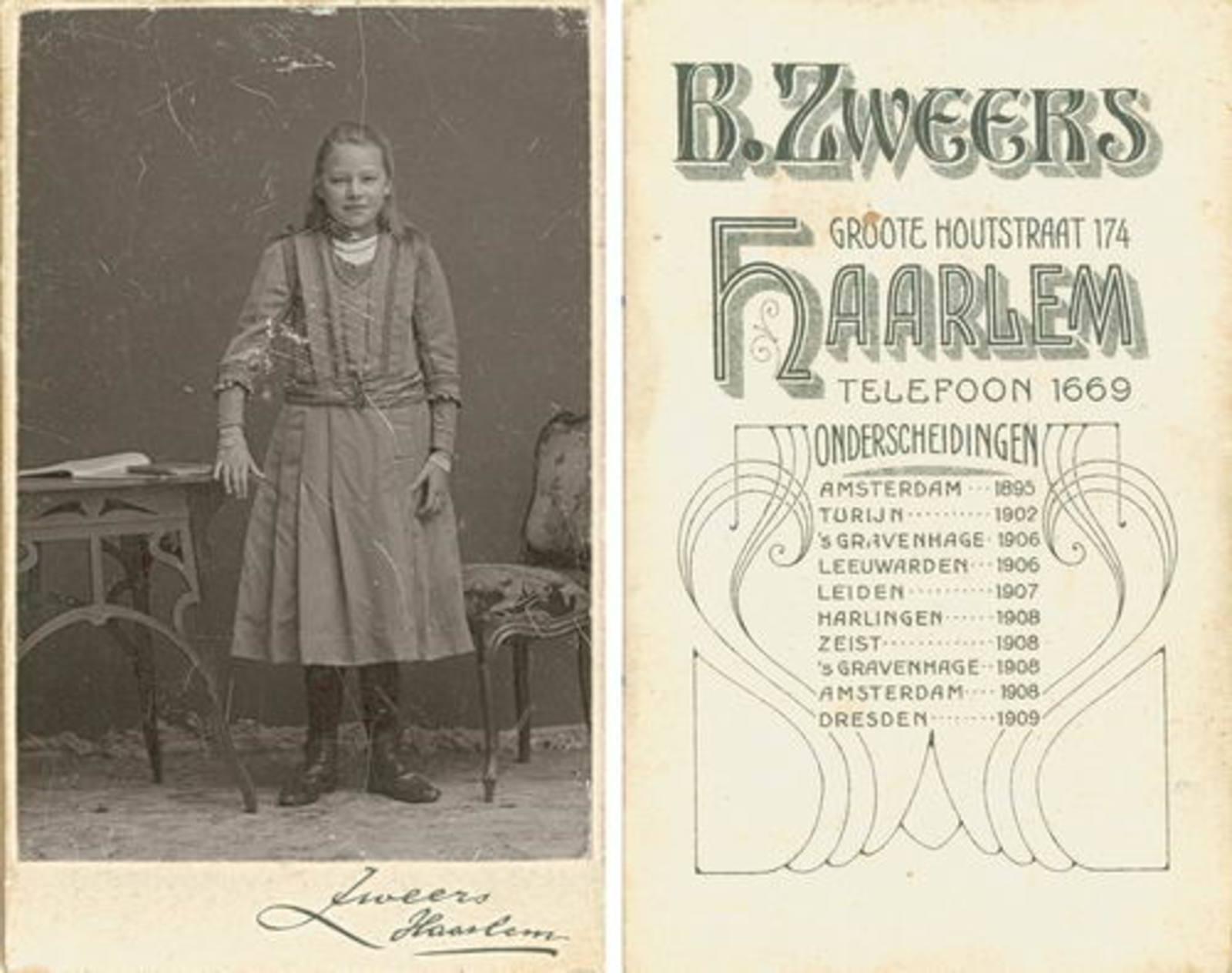 Zanten Bets v AbrDr 1898 1909+ bij Fotograaf
