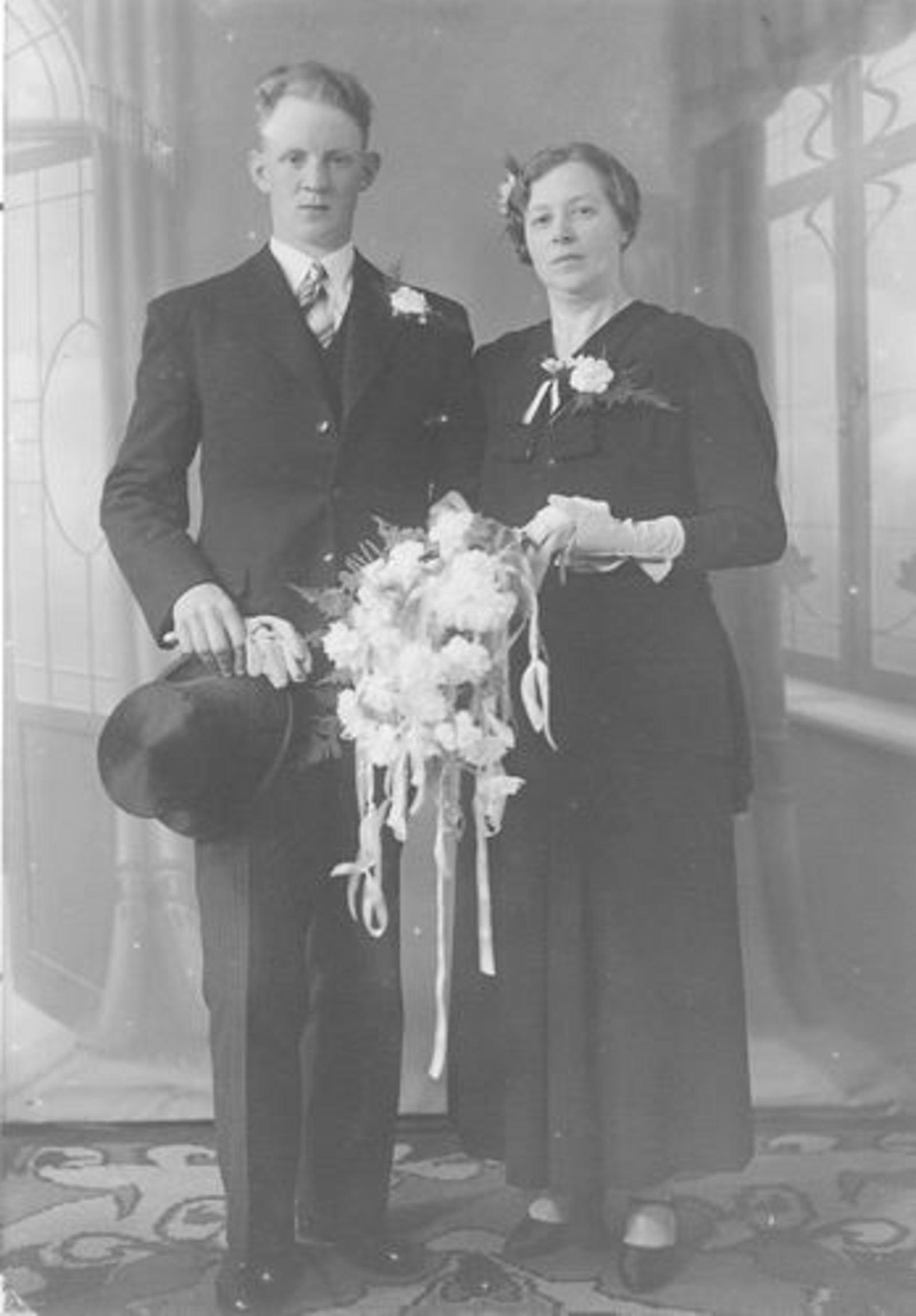 Zanten Bets v AbrDr 1898 1937 trouwt Jan Bisschop