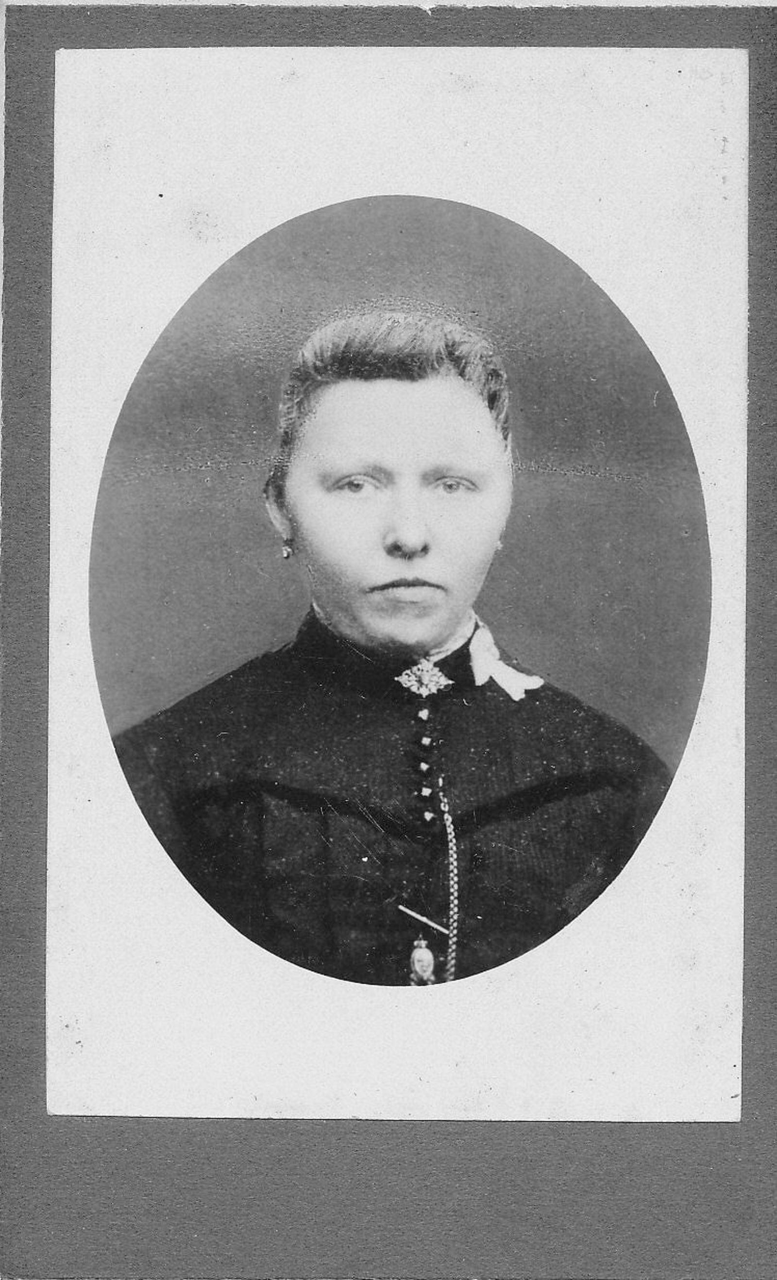 Blonk Hubertus 1891 19__ Portret vrouw Maria Vis