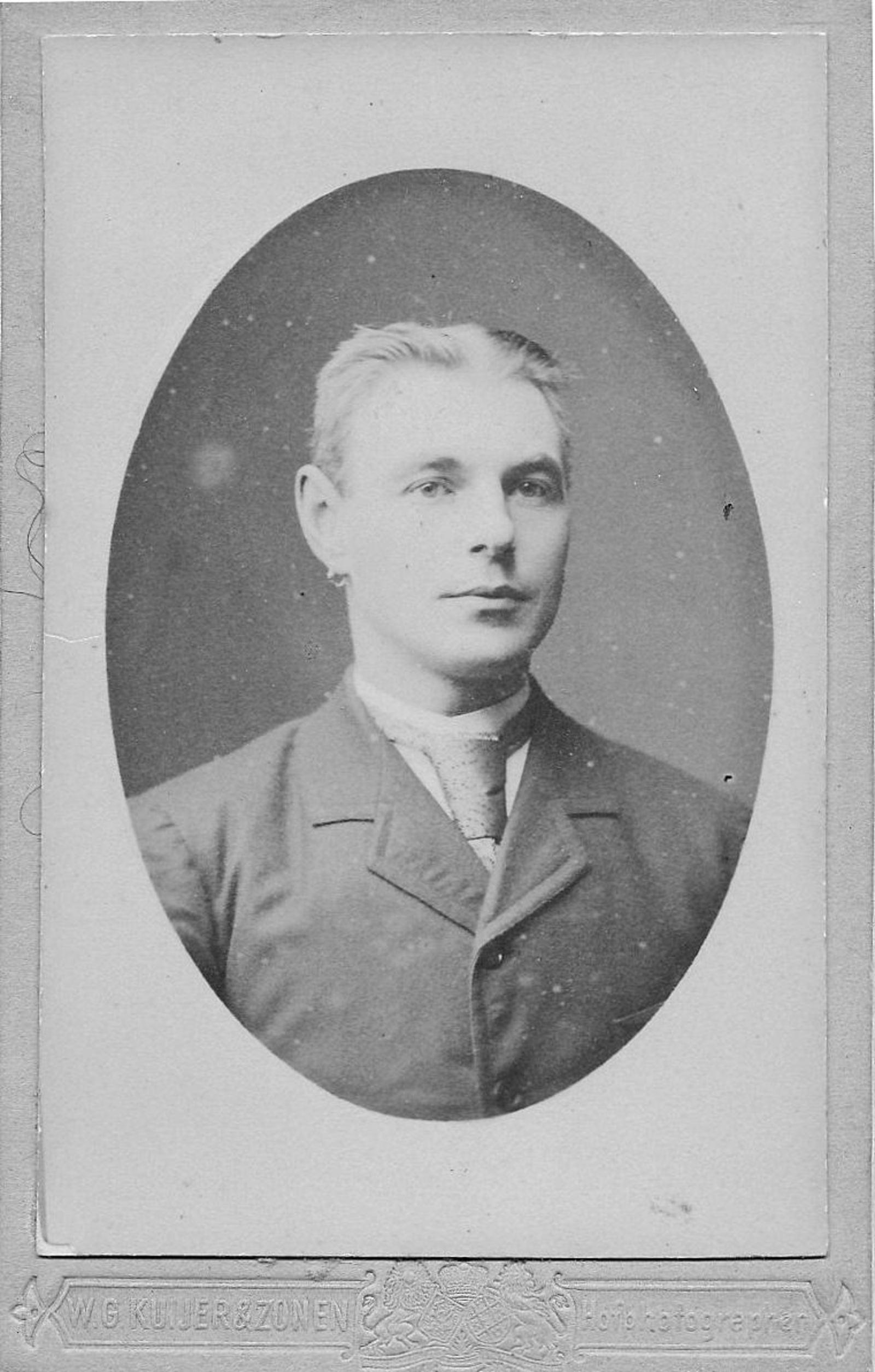 Breure Arie Nicolaas 1867 19__ Portret