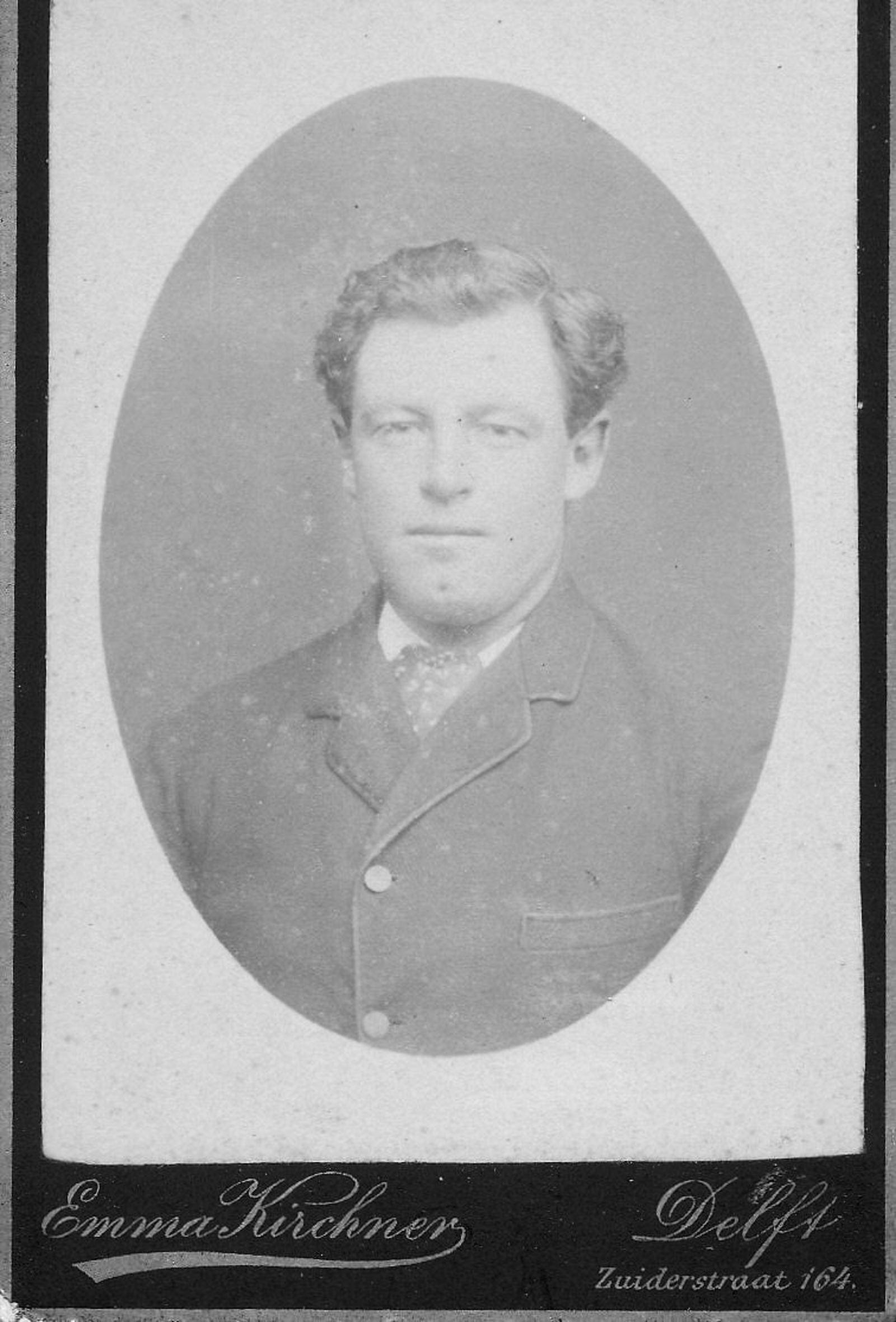 Blonk Hubertus 1891 19__ Portret