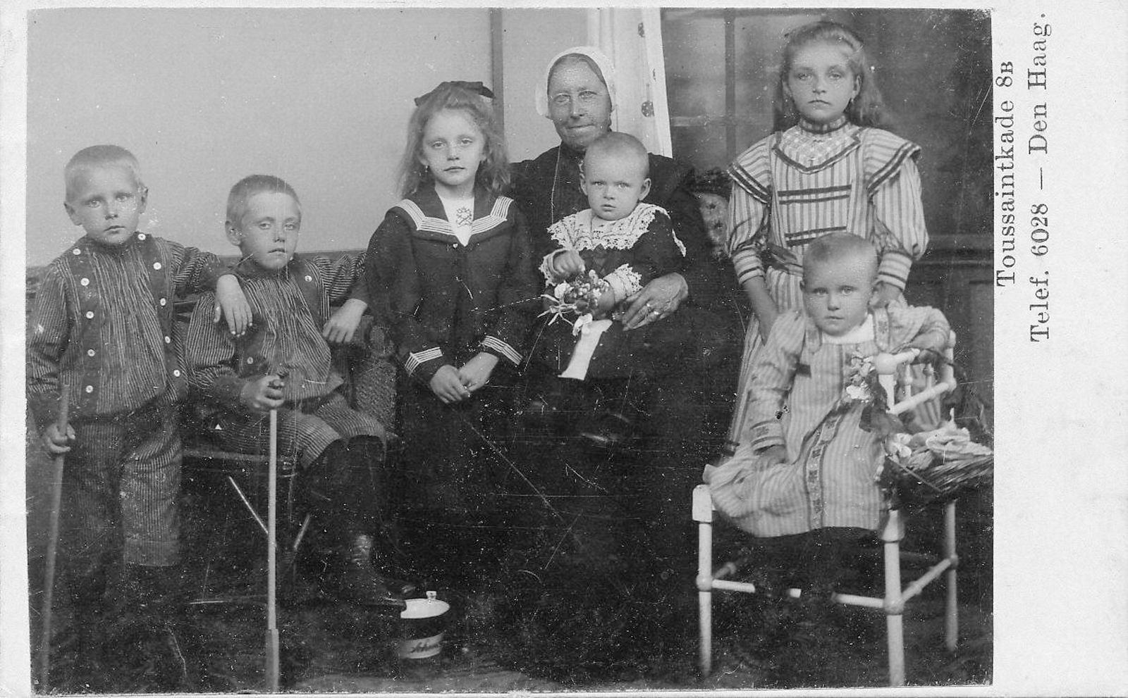 Zekveld Familie Onbekend Den Haag Vermeulen 19__ Portret 28