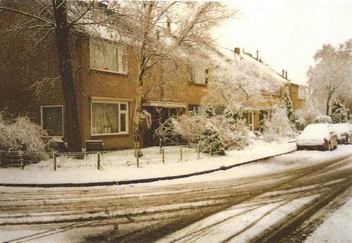 Zichtweg 0044 1971 Huize Pijpers in de Sneeuw