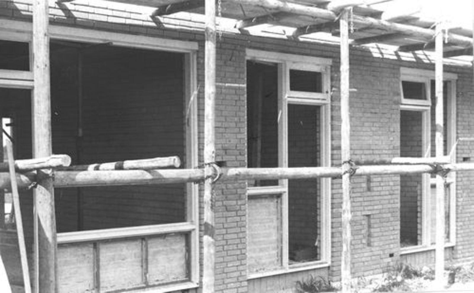 Zichtweg 0044 1971± Huize Pijpers in Aanbouw 01